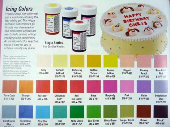 Wilton 2 Colour Cake Ideas And Designs