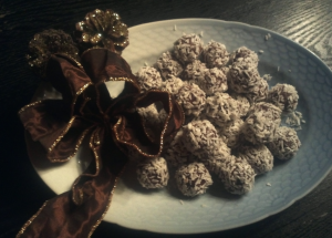 Chokolade-Nutella Trøfler