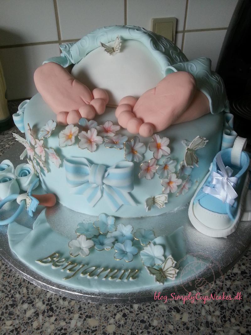 opskrift på dåbskage baby